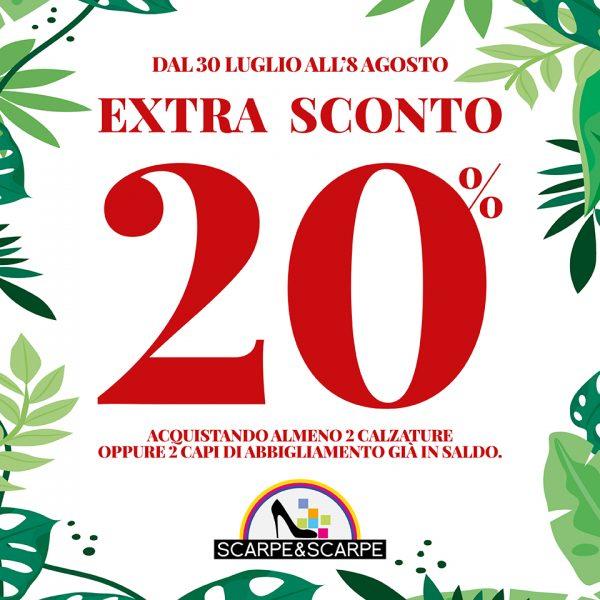 S&S EXTRA SCONTO 20 POST 960X960