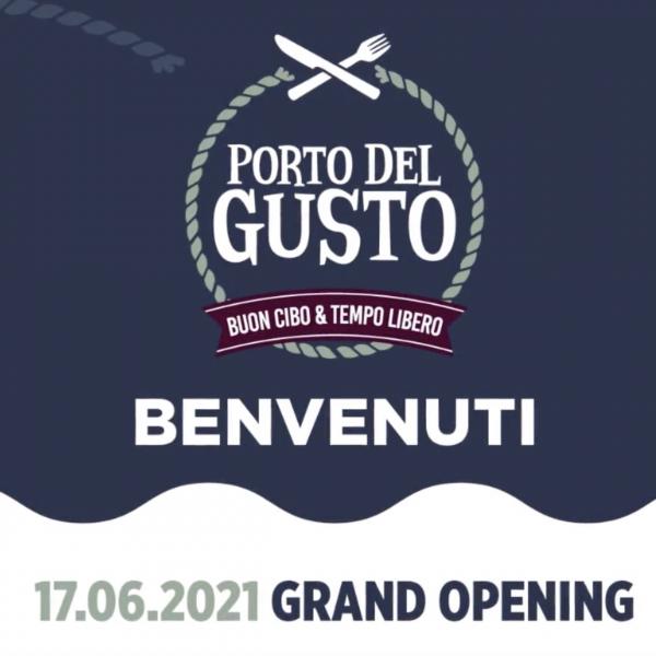 Inaugurazione Porto del Gusto Parco Levante